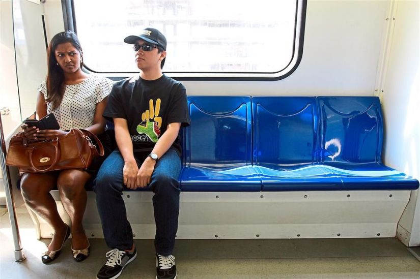 Unwelcome Train Buddies